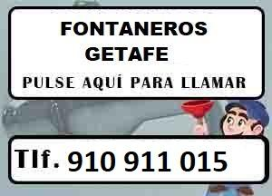 Fontaneros Getafe Madrid Urgentes