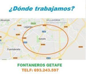 ¿ en que zonas de Getafe trabajamos ?