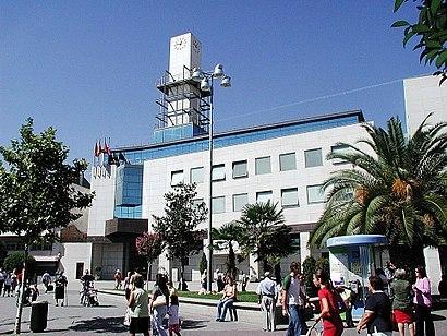 Ayuntamiento en la localidad de Getafe